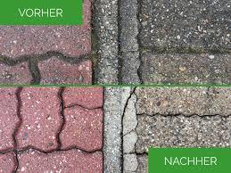 Garten Gestalten Vorher Nachher 11 Besten Pflasterreinigung Ihre Pflastersteine Wie Neu Bilder