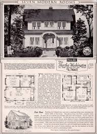 colonial revival house plans martha washington colonial revival kit house plan 1923