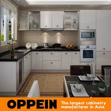 wooden kitchen furniture china high gloss pvc l shaped wholesale modular wooden kitchen