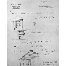 viceroy u0027s house new delhi sketches in a letter by sir edwin