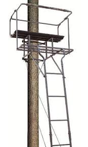 big tree stand ladder big bud 18ft 2 hook 1 outfitters