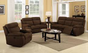 Recliner Living Room Set Amazing Nobel Plush Living Room Reclining Sofa Loveseat 118109