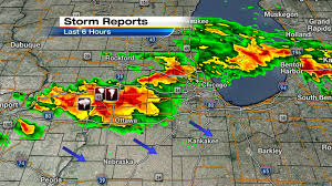 Severe Weather Map Metro Detroit Weather Updates To The Severe Weather Event