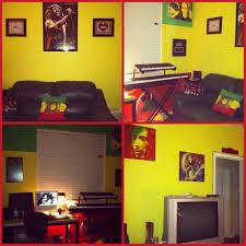 chambre rasta my rasta bob marley themed room room painting ideas