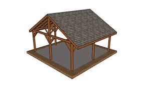 20x20 picnic shelter roof plans myoutdoorplans free