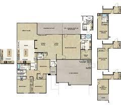 single story house plans with bonus room elliott homes the arabian at estate series at riverwalk floorplans