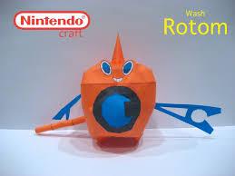 pokémon nintendo papercraft