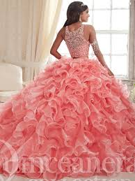 coral pink quinceanera dresses two gown quinceanera dress 26830