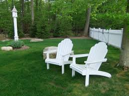 Pvc Patio Furniture Cushions - furniture charming plastic adirondack chairs lowes for outdoor