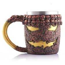 Dragon Coffee Cup Ozoops 3d Skull Mugs Coffee Tea Bottle Mug Skull Knight Tankard