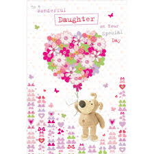 boofle daughter happy birthday greeting card cards love kates