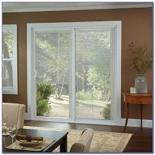 Patio Door Internal Blinds Prepossessing 30 Sliding Patio Doors With Built In Blinds Design