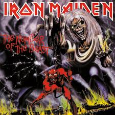 Iron Maiden Flag Iron Maiden The Number Of The Beast Nuclear Blast
