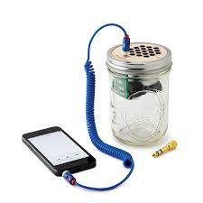 mason jar speaker u0026 amplifier best portable speaker mini guitar