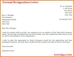 appreciative resignation letter examples letter or resignation