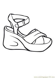high heel shoes coloring pages bing images zb the shoe