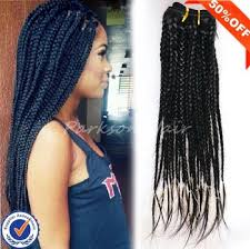 crochet braids with human hair hot sale box braid hair crochet braids with human hair cheap