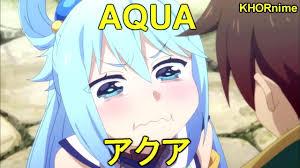 aqua aqua being aqua funniest anime moments from konosuba s1 u0026 s2