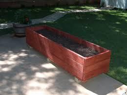 Planter With Legs by Garden Design Garden Design With Build Wooden Planter Box Legs