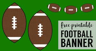football decorations cheap bowl decorations football banner paper trail design