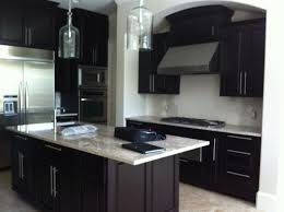 kitchen wall colors with dark cabinets backsplash ideas for dark cabinets and dark countertops kitchen wall