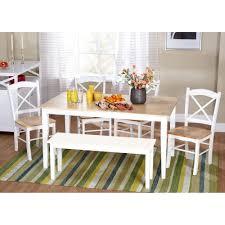 amazon com tiffany 6 piece dining set table u0026 chair sets