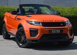 land rover orange range rover
