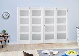 White Room Divider with Contemporary White 4l Frenchfold Room Divider Climadoor From