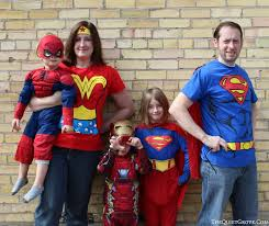 where to get super hero halloween costumes for the whole family