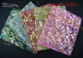 wholesale organza bags 2017 omh wholesale gauze organza bag jewelry packing pouch