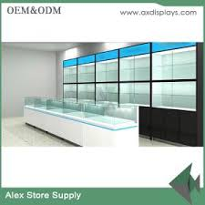 shop decoration mobile counter design phone display showcase design shop