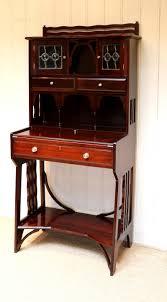 Victorian Secretary Desk by Liberty U0026 Co Arts And Crafts Mahogany Desk C 1890 English From