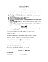 sle resume for business analysts duties of executor of trust requisite pro resume