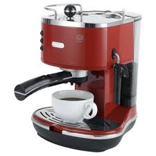delonghi magnifica red light buy delonghi 15 bar pump espresso coffee machine red from our