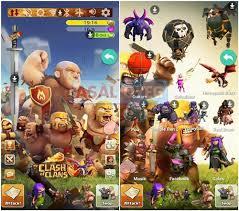 wallpaper coc keren for android cara memasang tema clash of clans coc di android mudah