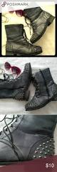 black moto boots short best 25 studded combat boots ideas on pinterest punk boots
