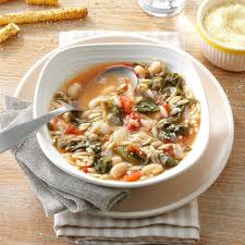 Italian Soup by White Bean Soup With Escarole Recipe Taste Of Home