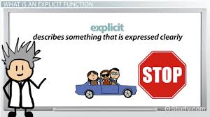 explicit functions definition u0026 examples video u0026 lesson