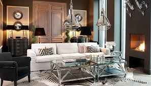 chic zebra print rug in living room contemporary with modern