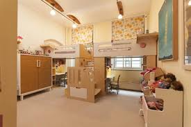 chambre mezzanine enfant chambre enfant idee deco chambre partagee enfants lits mezzanine