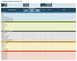 Candidate Tracking Spreadsheet Free Onboarding Checklists And Templates Smartsheet