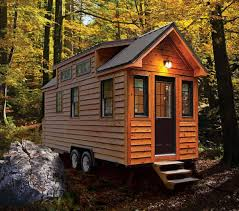 Tiny Cabin On Wheels | house on wheels awesome tiny house model home design garden