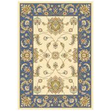 home decorators review home decorators collection versailles beige blue 5 ft 3 in x 7 ft
