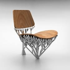 Modernist Chair by Meshmixed Modern Emerging Objects