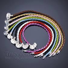 pandora style bracelet diy images 10pcs lot fashion 20cm rope chain bracelets multi colour diy jpg