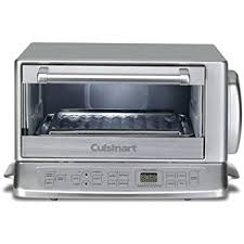 Toaster Oven Temperature Control Amazon Com Cuisinart Tob 195 Exact Heat Toaster Oven Broiler