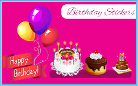 birthday stickers birthday stickers greetings apps on play