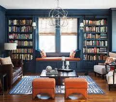 36 fabulous home libraries showcasing window seats decorating