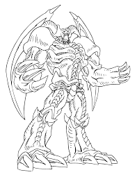 yugioh coloring pages to print murderthestout
