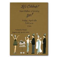 Cocktail Party Invite - celebration cocktail party invitations paperstyle